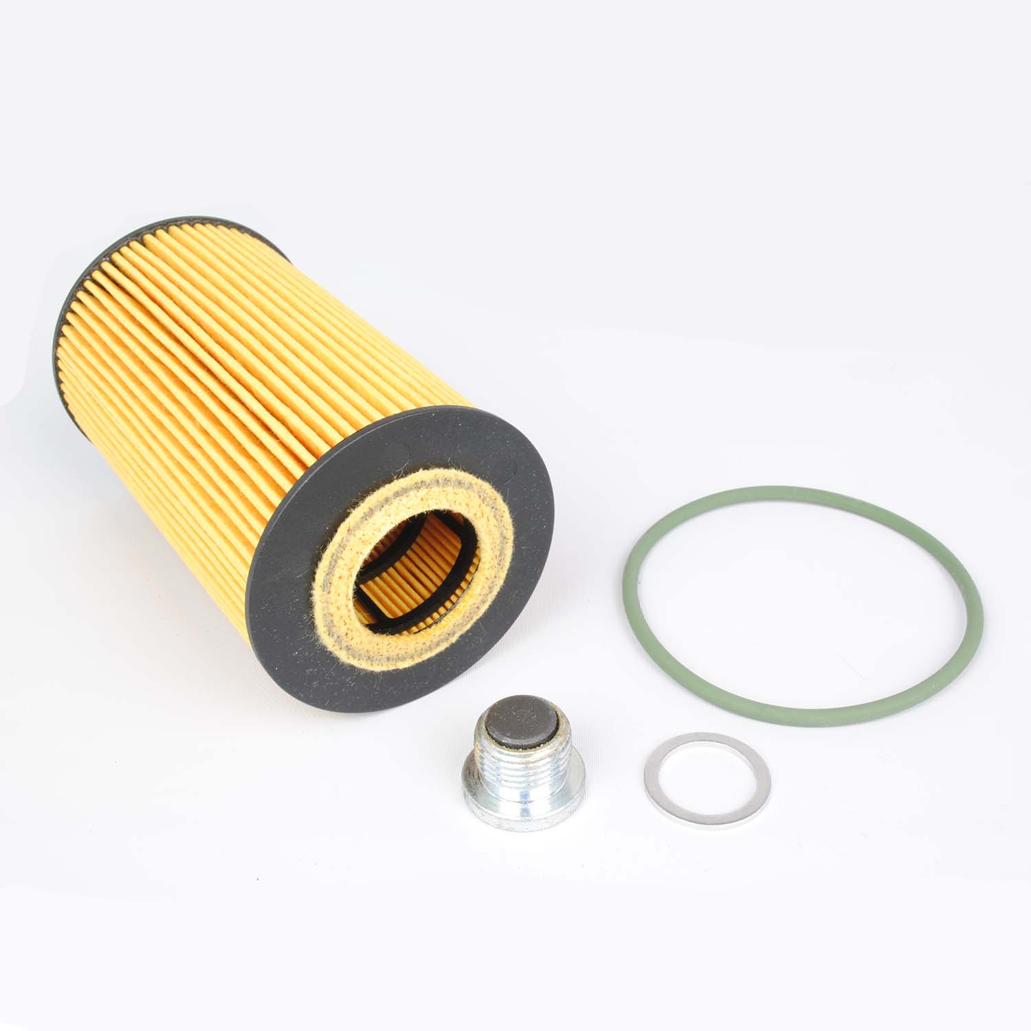 Oil Filter Kit With Magnetic Drain Plug