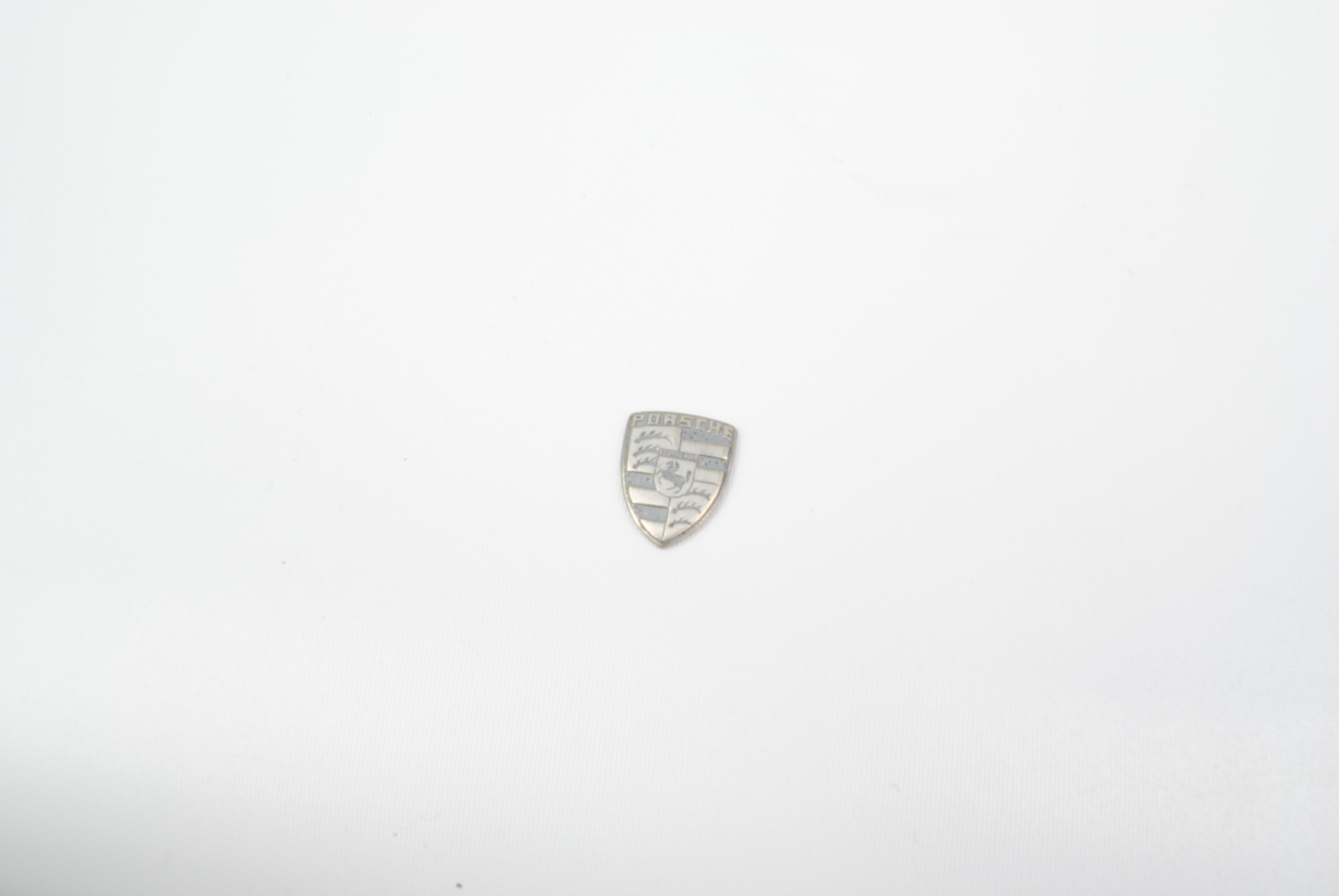 Porsche Key Fob Replacement Crest Emblem